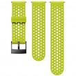 Óraszíj Suunto 24mm Athletic 1 Silicone Strap világoszöld