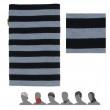 Sál Sensor Tube Merino Wool fekete/szürke černá pruhy
