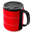 Bögre GSI Infinity Backpacker Mug 500ml piros