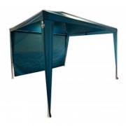 Rendezvénysátor Zulu Shelter M + INGYEN oldalsó fal kék/fehér