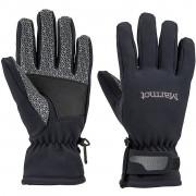 Női kesztyű Marmot Glide Softshell Glove fekete