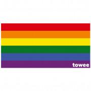 Gyorsan száradó törülköző Towee Life In Colours 80x160 cm kevert színek