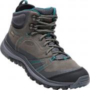 Női cipő Keen Terradora leather MID WP W szürke