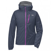 Dámská bunda Outdoor Research Women's Helium II Jacket szürke/lila
