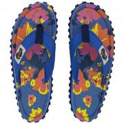 Női flip-flop Gumbies Islander Floral kék Floral