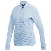 Női kabát Adidas Varilite Hybrid világoskék