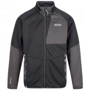 Férfi kabát Regatta Foley Hybrid fekete/szürke