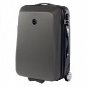 Gurulós bőrönd Elbrus Dublin 40l szürke
