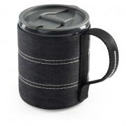 Bögrék-csészék GSI Outdoors Infinity Backpacker Mug fekete
