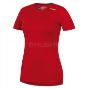 Női funkciós póló Husky Merino r. ujjú piros