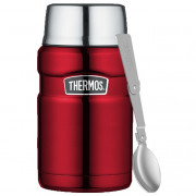 Ételtermosz kanállal és bögrével Thermos 710 ml