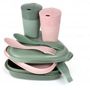 Edénykészlet Light My Fire Pack'n EatKit BIO rózsaszín/zöld