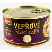 Sertéshús gombával Veseko 400 g
