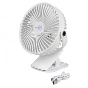 Ventilátor Bo-Camp Lux Fan Table DeLuxe ABS fehér
