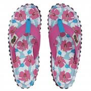 Női flip-flop Gumbies Islander Mixed Hibiscus rózsaszín Mixed Hibiscus