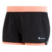 Női rövidnadrág Sensor Trail fekete/rózsaszín černá/apricot