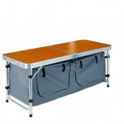 Konyhai asztal Zulu Sorgo szürke