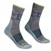 Férfi zokni Ortovox Alpinist Pro Compr Mid Socks M szürke