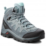 Női cipő Salomon Authentic Ltr GTX® W kék/zöld Lead/stormy weather/eggshell blue