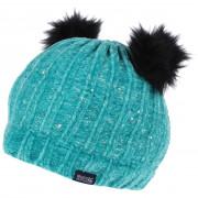 Gyerek téli sapka Regatta Hedy Lux Hat II türkiz