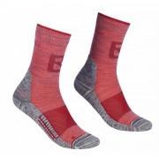 Női zokni Ortovox Alpinist Pro Compr Mid Socks W piros