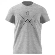 Férfi póló Adidas Ascend Tee szürke