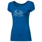"""Női póló Progress OS LIBERTA """"FLOWBIKE"""" 24IJ kék"""