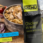 Adventure menu Csirke vadasan rizzsel 400 g