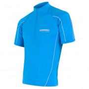 Férfi biciklis mez Sensor Entry kék
