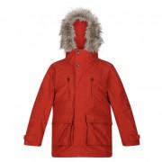 Gyerek kabát Regatta Podrick Parka piros