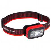 Fejlámpa Black Diamond Storm 400 piros