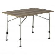 Stůl Bo-Camp Table Feather 110x70 cm barna
