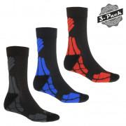 Férfii zokni Sensor Hiking Merino 3-Pack