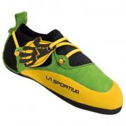 Dětské lezečky La Sportiva Stickit sárga/zöld