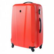 Gurulós bőrönd Elbrus Roma 72l narancs
