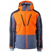 Férfi kabát Brugi 4AP9 szürke/narancssárga