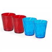 Pohár készlet Omada Tritan Water glass Set 0.35lt.