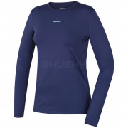 Női funkciós póló Husky Active Winter h. ujjú kék modrá