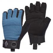 Férfi kesztyű Black Diamond Crag Half-Finger Gloves kék