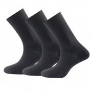 Zokni Devold Daily light sock 3PK fekete