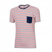 Férfi póló Progress OS Pandur 24GA kék/fehér