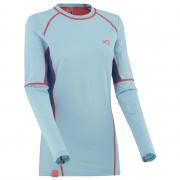 Dámské funkční triko s dlouhým rukávem Kari Traa Svala Ls kék/rózsaszín