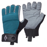 Dámské rukavice Black Diamond W'S Crag Half-Finger Gloves kék
