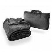 Úti takaró Cabeau Fold 'n Go Blanket fekete
