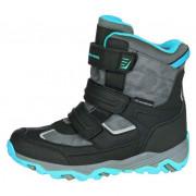 Gyerek télicipő Alpine Pro Acacio fekete/kék