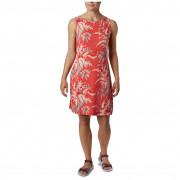Dámské šaty s potiskem Columbia Chill River Printed Dress narancs