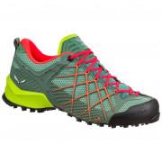 Női cipő Salewa WS Wildfire zöld/piros
