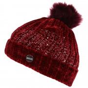 Téli sapka Regatta Lorelai Hat burgundi vörös