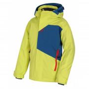 Gyerek téli kabát Husky Zort K zöld