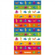 Gyerek gyorsan száradó törülköző Towee Swimkit 70x140 cm kevert színek